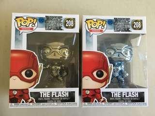 The Flash Chrome POP ( Justice League )