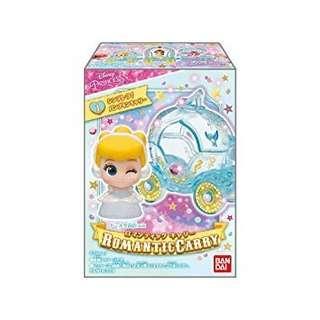 🚚 [Juniorcloset] 🆕️ Bandai Disney princess romantic carry - Chibi Cinderella and carriage