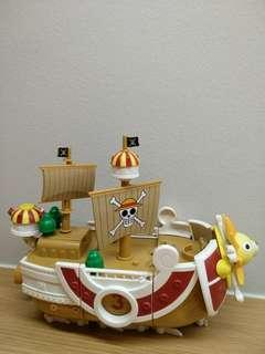 One peice ship toy collection