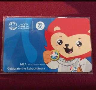 SEA Games 2015 EZLink Card (Unused)