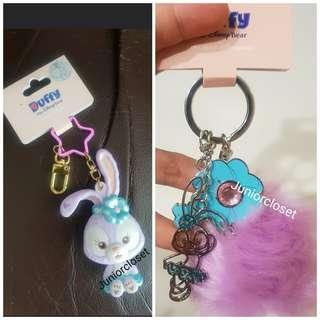 🚚 [Juniorcloset] 🆕️ Disneyland Stella Lou Keychain Mirror Stella lou keychain with pom pom From$18