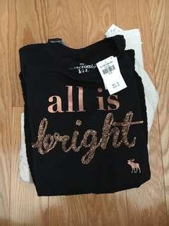 CHEAP NEW GIRL TEEN AND KID ABERCROMBIE SHIRTS!!
