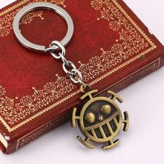 ONE PIECE TRAFALGAR WATER D. LAW KEYCHAIN KEY CHAIN ONE PIECE LUFFY
