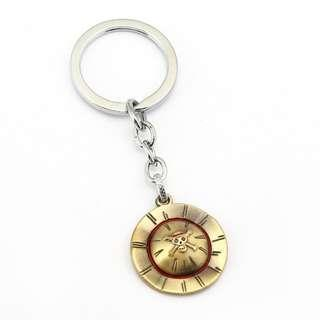 LUFFY HAT KEY CHAIN KEYCHAIN ONE PIECE MONKEY D. LUFFY ONE PIECE LUFFY STRAW HAT