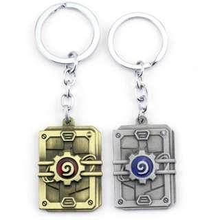 HEARTHSTONE PACK KEYCHAIN KEY CHAIN HEARTHSTONE COIN CARD GAME