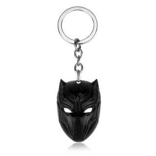 BLACK PANTHER KEYCHAIN KEY CHAIN MARVEL IRON MAN HULK SPIDERMAN THOR CAPTAIN AMERICA