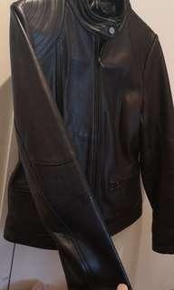 100% LEATHER JACKET NEW ZEALAND LAMB