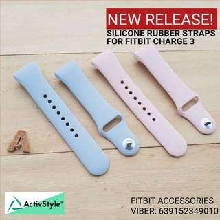 straps for the Fitbit Charge 3