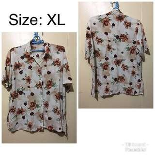 Floral Polo womens
