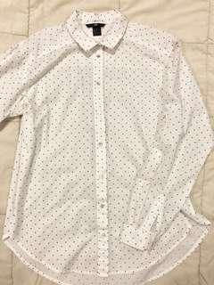 Long-sleeved Button Down