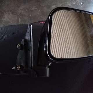 Powered chrome side mirror