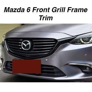Mazda 6 Front Grill Frame Trim (2pcs)