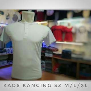 Kaos Polos Kancing Premium Bandung Termurah