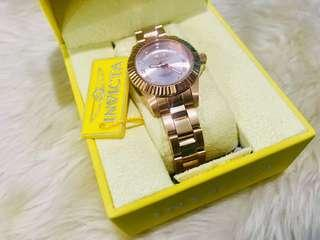 💯 AUTHENTIC!! Technomarine/Invicta SWISS Rose Gold Watch for Women