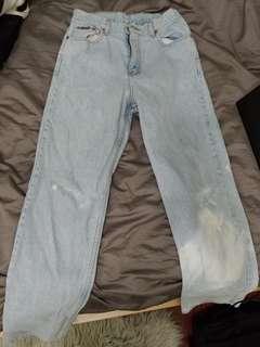 Calvin Klein Straight Legged Jeans
