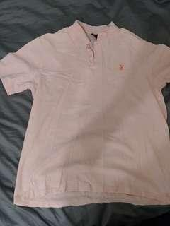 Baby Pink Playboy Polo Shirt