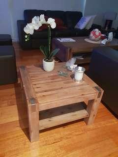 Hardwood table set