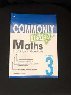 P3 Commonly Tested Maths Examination Questions
