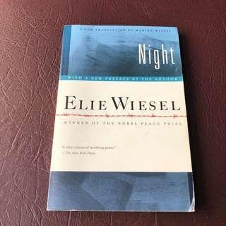 Night by Ellie Wiesel