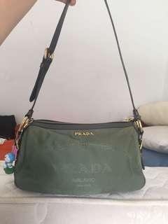 Prada tessuto small auth but roomy