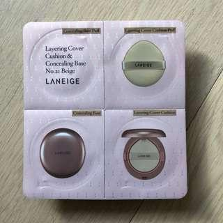 (包郵) Laneige cover cushion and concealing base