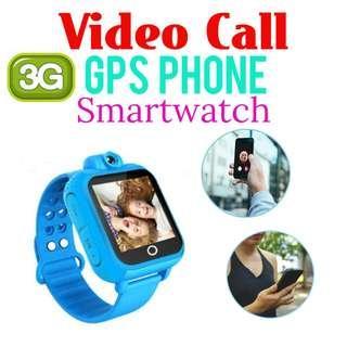 Video Call 3G GPS Kids Phone Watch