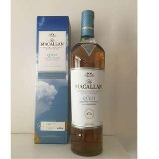 Macallan Quest 麥卡倫 藍天 700ml 有盒 蘇格蘭 威士忌 收藏 自用 送禮