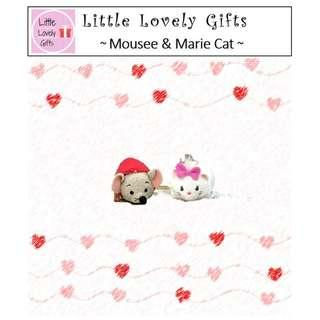 Tsum Plush Mouse & Marie Cat (Free Normal Mail)