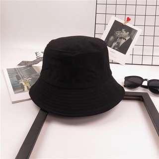🚚 InStock - Black Bucket Hat (Free Normal Mail)