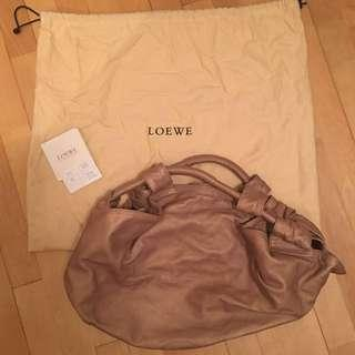 Rarely Used Authentic Loewe Leather Bag Selling Cheap