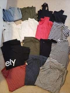Ladies clothing,  tshirts, tunic, jeans!