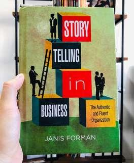 🚚 Story Telling in Business by Janis Forman