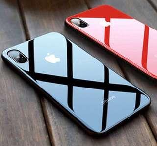Iphone 6/s Black Tempered Glass Casing
