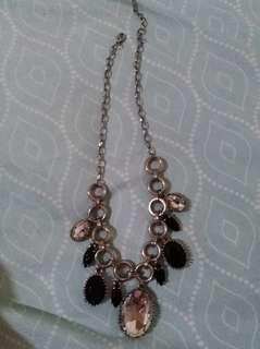 Necklace with stones #febsale