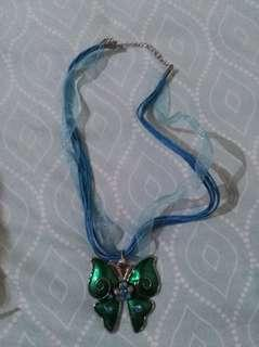 Blue multi layered necklace #febsale