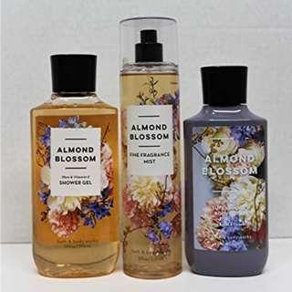 SALE Bath & Body Works Almond Blossom