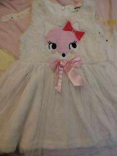 🚚 (5號)小狐狸紗裙