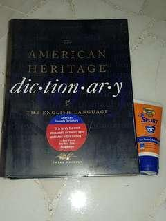 American Dictionary (original $50)