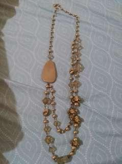 Gold multi layered necklace #febsale