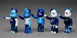 Pepsi x Clot 100% bearbrick be@rbrick Medicom set
