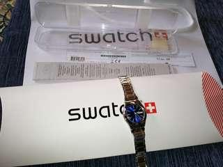 Swatch irony scuba 200 swiss made authentic not Rado omega rolex hublot