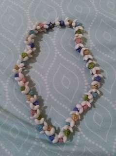 Ceramic flower necklace #febsale