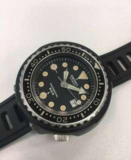 Seiko Grandfather Tuna 6159-7010 professional monster diver watch