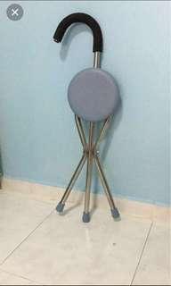 Preloved walking stick chair