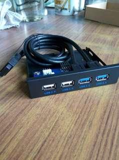 全新USB 3.0 front panel 3.5 inch