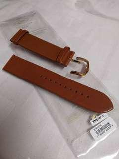 Fossil mens leather watch strap