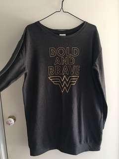 Wonder Woman Oversized Top