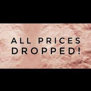 Prices dropped. Come check out remaining clothing.