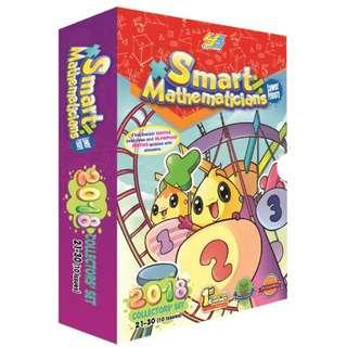 Smart Mathematicians 2018 (Lower & Upper Primary) and 2017 (Lower Primary) collector set