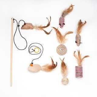 Assorted Cat Toys